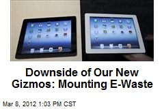 Downside of Our New Gizmos: Mounting E-Waste