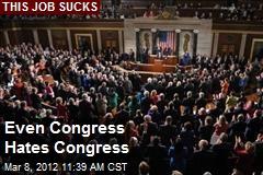 Even Congress Hates Congress