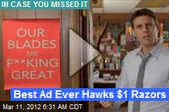 Awesome $1 Razor Ad Goes Viral