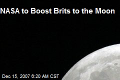 NASA to Boost Brits to the Moon