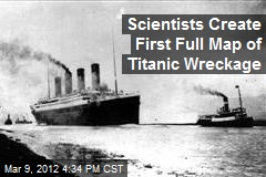 Scientists Create First Full Map of Titanic Wreckage