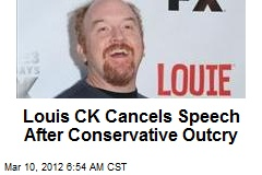 Louis CK Cancels Speech After Conservative Outcry