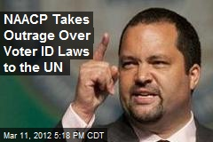 NAACP Takes Outrage Over Voter ID Laws to the UN