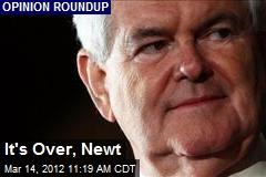It's Over, Newt