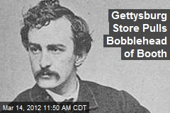 Gettysburg Store Pulls Bobblehead of Booth