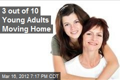 3 out of 10 Young Adults Moving Home