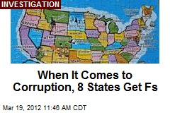 When It Comes to Corruption, 8 States Get Fs