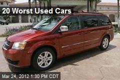 20 Worst Used Cars