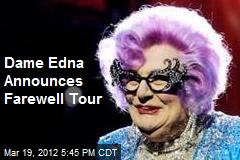 Dame Edna Announces Farewell Tour