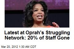 Oprah Shakes Up Struggling Network