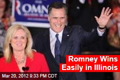 Romney Poised for Illinois Win
