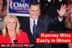 Romney Poised for Illinois Win