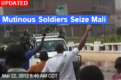 Army Mutiny Shakes Mali
