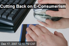 Cutting Back on E-Consumerism