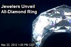 Jewelers Unveil All-Diamond Ring