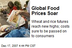 Global Food Prices Soar