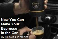 Now You Can Make Your Espresso in the Car