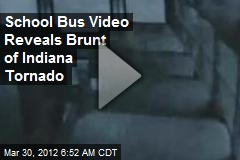 School Bus Video Reveals Brunt of Indiana Tornado