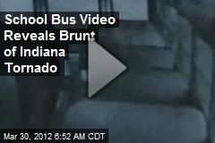 School Bus Video Reveals Brunt of Indiana Tornado