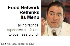 Food Network Rethinks Its Menu