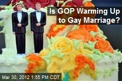 Is GOP Warming Up to Gay Marriage?
