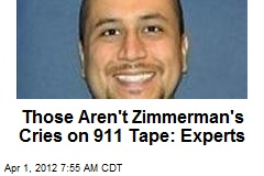 Those Aren't Zimmerman's Cries on 911 Tape: Experts