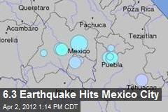 6.3 Earthquake Hits Mexico City