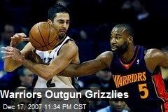Warriors Outgun Grizzlies