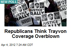 Republicans Think Trayvon Coverage Overblown
