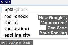 How Google's 'Autocorrect' Can Fix Your Spelling