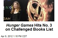 Hunger Games Hits No. 3 on Challenged Books List