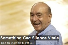 Something Can Silence Vitale