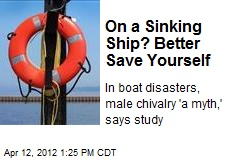 On a Sinking Ship? Better Save Yourself