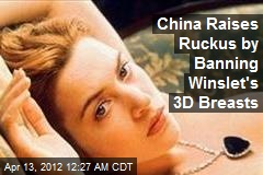 Winslet's 3-D Breasts Censored for 'Grabby' Chinese