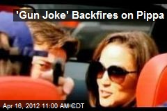 'Gun Joke' Backfires on Pippa