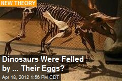 Dinosaurs Were Felled by ... Their Eggs?