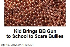Kid Brings BB Gun to School to Scare Bullies