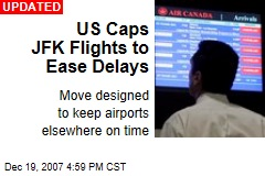 US Caps JFK Flights to Ease Delays