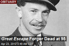 Great Escape Forger Dead at 95