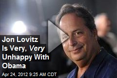 Jon Lovitz Is Very, Very Unhappy With Obama