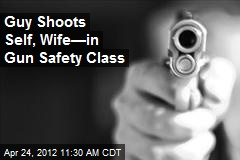 Guy Shoots Self, Wife—in Gun Safety Class