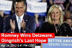 Mitt Romney Hopes for 5-State Sweep