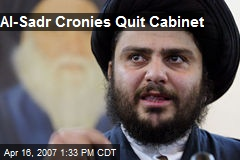 Al-Sadr Cronies Quit Cabinet