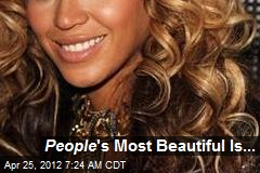 People 's Most Beautiful Is...
