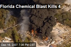 Florida Chemical Blast Kills 4