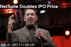 NetSuite Doubles IPO Price