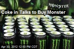Coke in Talks to Buy Monster