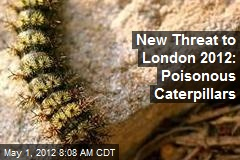 New Threat to London 2012: Poisonous Caterpillars