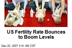 US Fertility Rate Bounces to Boom Levels