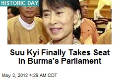 Suu Kyi Sworn In to Burma's Parliament